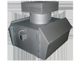 Вентиляторы дымоудаления крышные радиальные и с факельным выбросом&10;ВКРФ ДУ